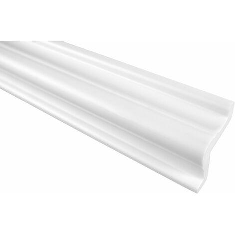 Moulure de finition | Stuc | PU | Antichoc | Grand Décor | 37x37mm | P815