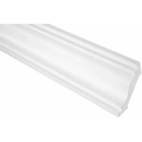 Moulure de finition | Stuc | PU | Antichoc | Grand Décor | 54x50mm | P812