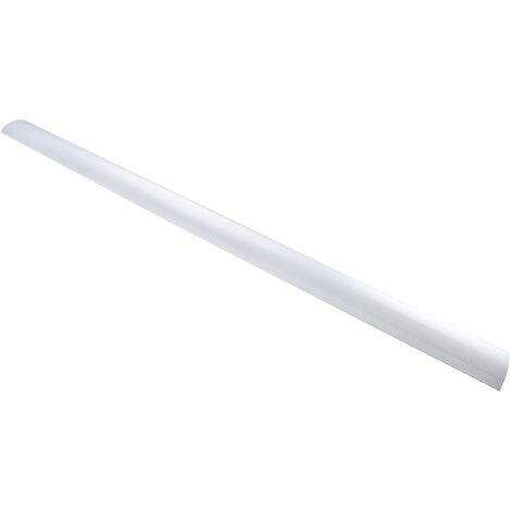 Moulures auto-adhésives Gris en Alliage d'aluminium (couvercle), PVC (base), 70 mm x 16mm 1m