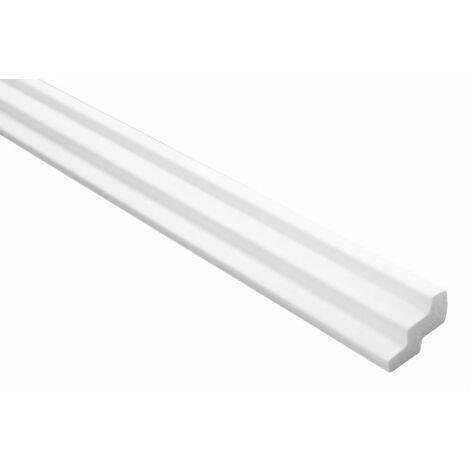 Moulures en stuc | XPS | stable | Marbet | 19x30mm | E-17