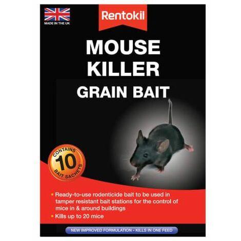 Mouse Killer Grain Bait 10 Sachets (RKLPSM22)