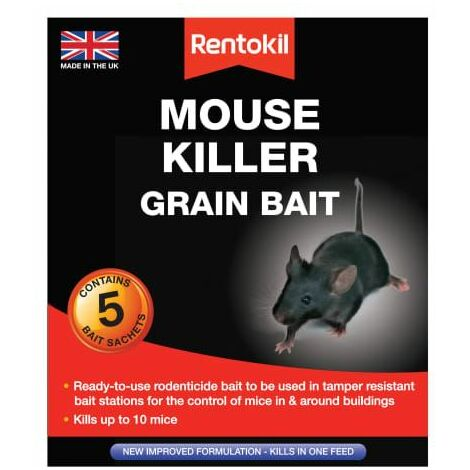 Mouse Killer Grain Bait 5 Sachets (RKLPSM21)
