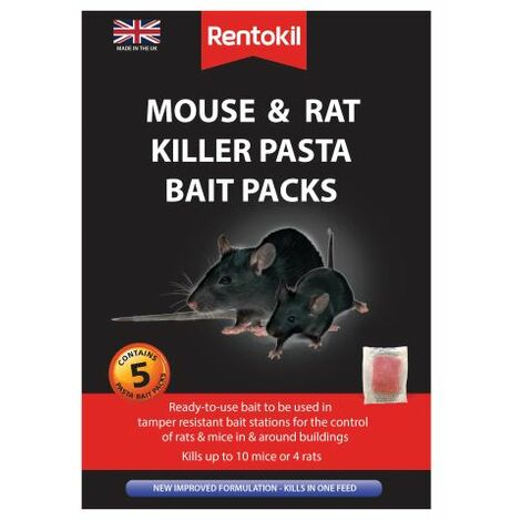 Mouse & Rat Killer Pasta Bait 5 Sachets (RKLFMR51)