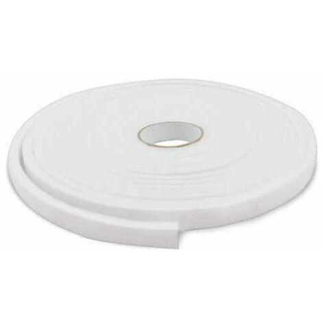 Mousse de joint d'étanchéité 12 mm 10M blanc GSC 003803807