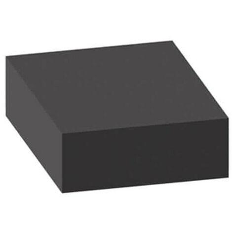 Mousse de protection 1x1m noire non-adhésive épaisseur 20mm