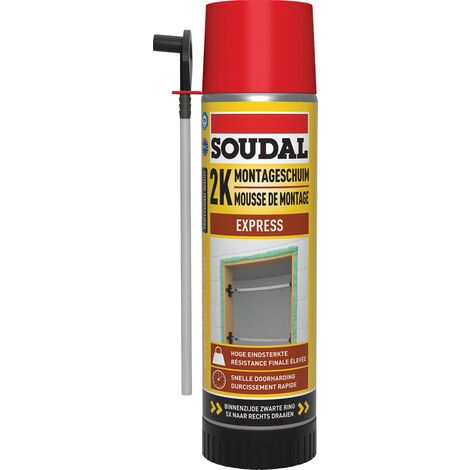 """main image of """"Mousse d'isolation PU Soudal 2K Express 500ml"""""""