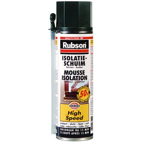 Mousse d'isolation Rubson 'High Speed' - 500ml