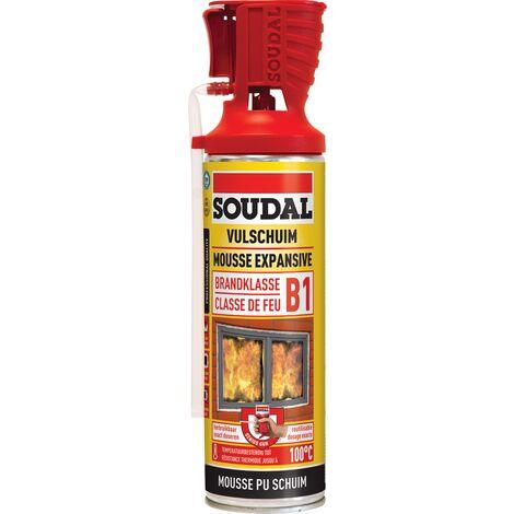"""main image of """"Mousse d'isolation Soudal Genius Classe de feu B1 500ml"""""""