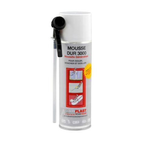 Mousse dur 3000 Soloplast polyuréthane 300ml - Blanc