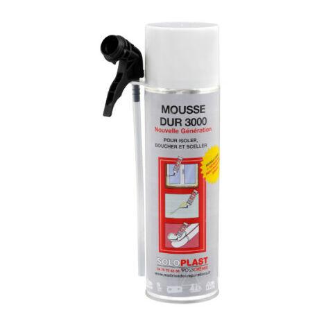Mousse dur 3000 Soloplast polyuréthane 500ml - Blanc