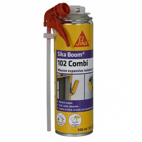 Mousse expansive isolante 2en1 Sika Boom 102 Combi 500ml SIKA