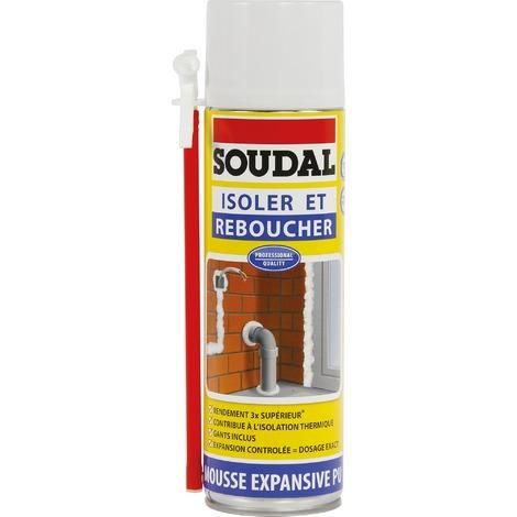 Mousse expansive PU Soudal