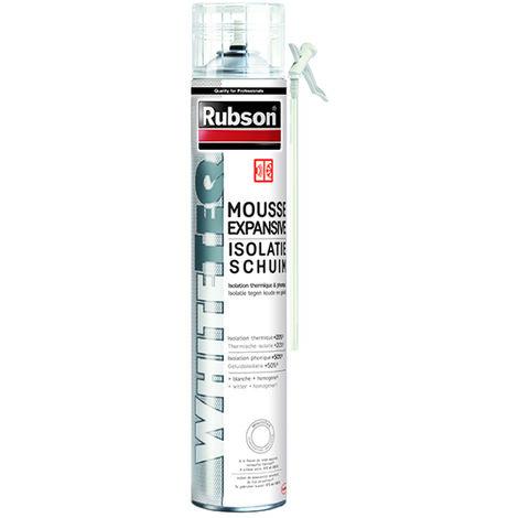 Mousse expansive thermique et phonique en aérosol RUBSON - 500 ml - 1915593