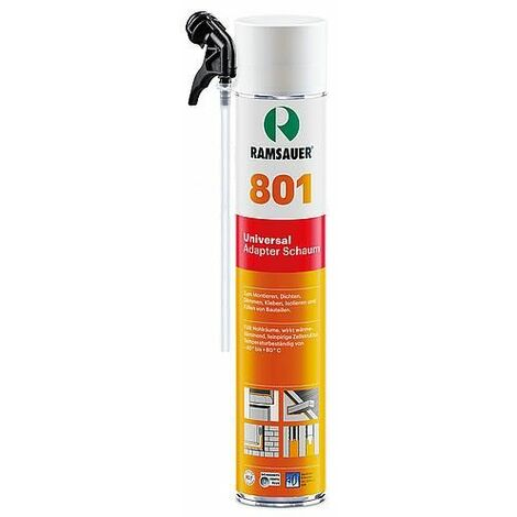Mousse expansive universelle 801 polyurethane - 750 ml