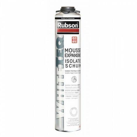 Mousse expansive WhiteTeq isolation thermique et phonique Rubson - plusieurs modèles disponibles
