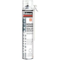 Mousse expansive WhiteTeq isolation thermique et phonique Rubson- plusieurs modèles disponibles