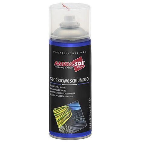 Mousse lubrifiante pour passage de câbles 400 ml - S156 - Ambro-sol