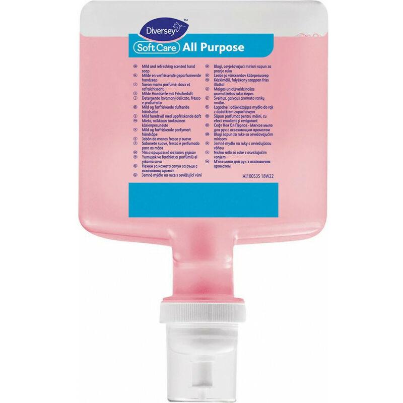 Mousse nettoyante 1,3 L - Soft Care (Par 4)
