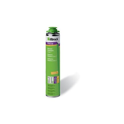 Mousse pistolable elastique BBC MX330 bombe de 700ml Nec+