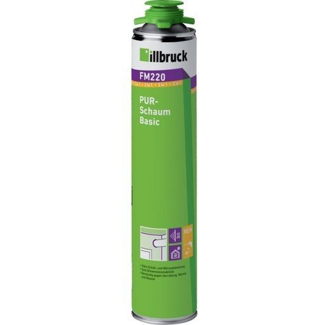 Mousse pistolable PUR base FM220 B2 750ml Illbruck (Par 12)