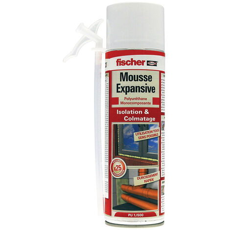 Mousse polyuréthane 500ml - Mousse PU 500ml