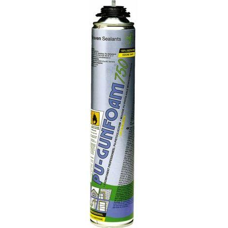 Mousse Polyurethane Expansive Pistolable 750 ml Den Braven