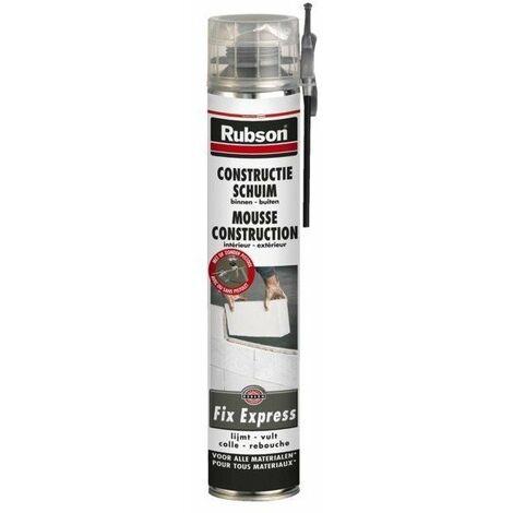 Mousse polyurethane fix express rubson 750ml
