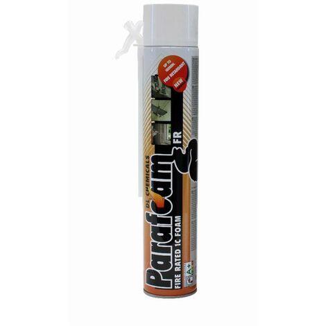 Mousse polyuréthane Parafoam FR DL CHEMICALS - Tête en bas - Coupe feu type FR - 750 ml - 0900018N000049