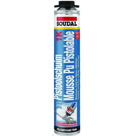 Mousse polyuréthane pistolable - 111126 - Soudal