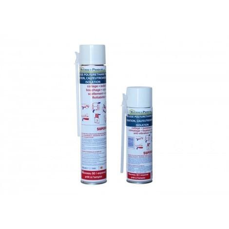 Mousse polyuréthane pour fixation, calfeutrement et isolation
