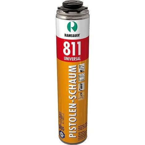 Mousse polyuréthane universelle 811 classe de feu B2 (Allemagne) contenu 750 ml