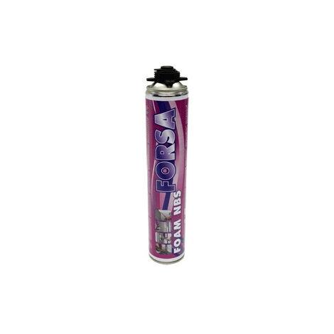Mousse PU Pistolable Forsafoam NBS DL CHEMICALS - Cartouche de 750 ml - Lot de 12 - 5300002N000049
