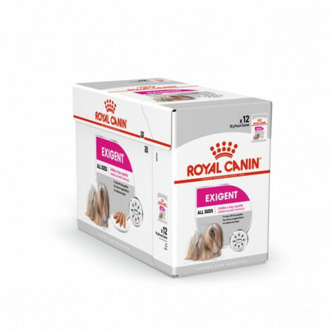 Mousse Royal Canin Exigent pour chien - 12 sachets fraîcheur 85 g