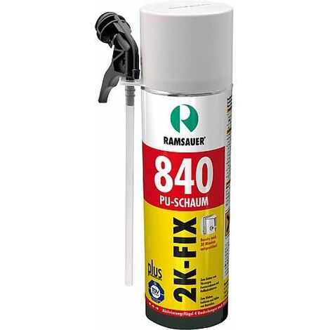 Mousse Zargenfix 840 plus polyuréthane - 400 ml couleur mousse vert