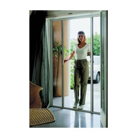 Moustiquaire 1 vantail New Idea AMB horizontale 250x140 cm - Blanc - NIDL1B10025026