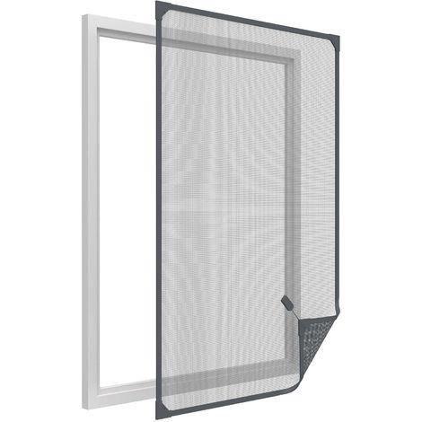 Moustiquaire avec cadre magnétique pour fenêtre 130x150 cm 130x150 cm