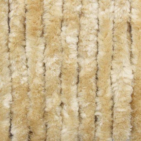 Moustiquaire Beige 100x220 cm Chenille