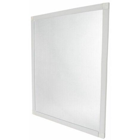 Moustiquaire cadre amovible blanc - 1060 x 1060mm Alu - Arrivage