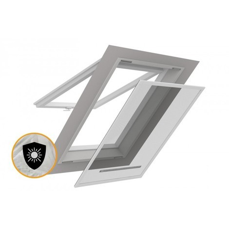 Moustiquaire Cadre Fixe Amovible Fenêtre De Toit Smart Tirette