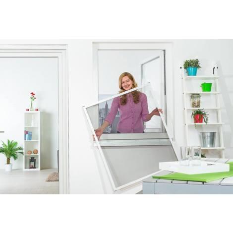 Tailles et couleurs /à choisir Mesure:120 x 250 cm Maille moustiquaire pour portes et fen/êtres en fibre de verre Couleur:Anthracite