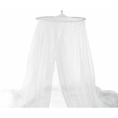 Moustiquaire ciel de lit tulle blanc
