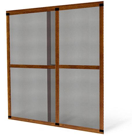 moustiquaire coulissante baie vitr e luxe ch ne dor. Black Bedroom Furniture Sets. Home Design Ideas