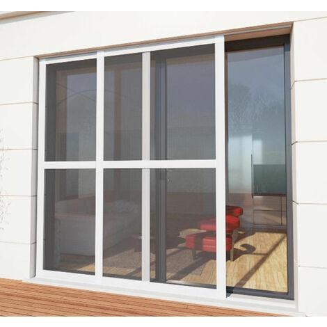 Moustiquaire coulissante baie vitrée luxe