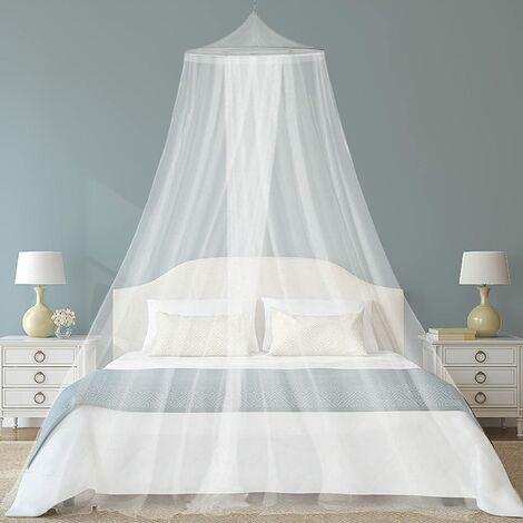 Moustiquaire de lit, Grande moustiquaire Lits Simples et Doubles, meilleure Insectes Protection,Lit Lade lit bébé,Princesse Chambre Tente adultevoyages, le camping Moustiquaire Anti Insectes