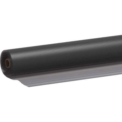 Moustiquaire en fibre de verre anthracite 150x250 150x250