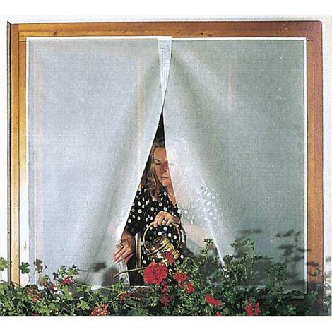 Moustiquaire en tulle blanc 150x300cm Werkapro