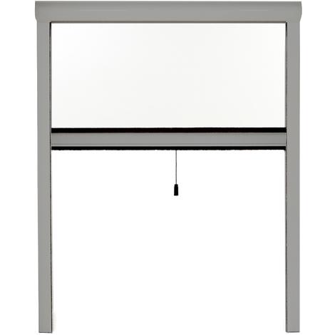 moustiquaire enroulable fen tre rollo pro alu gris alu. Black Bedroom Furniture Sets. Home Design Ideas