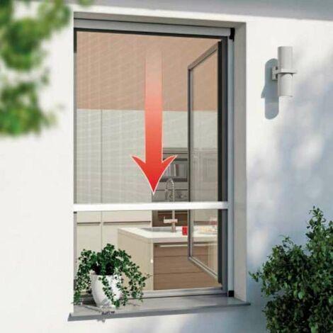 Moustiquaire enrouleur portes et fenêtres 160x160cm