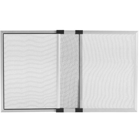 Moustiquaire extensible en aluminium 50x 75/142