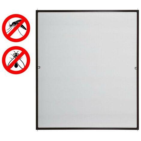 """main image of """"Moustiquaire fenêtre cadre en aluminium kit moustiquaire protection insectes"""""""
